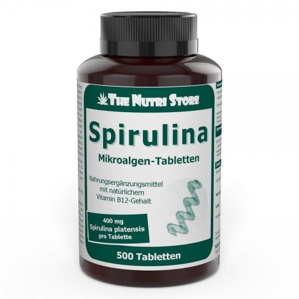 Spirulina 400 mg Tabletten 500 Stk.