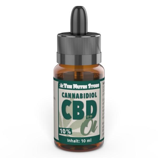 CBD Öl 10% 10 ml Nahrungsergänzungsmittel