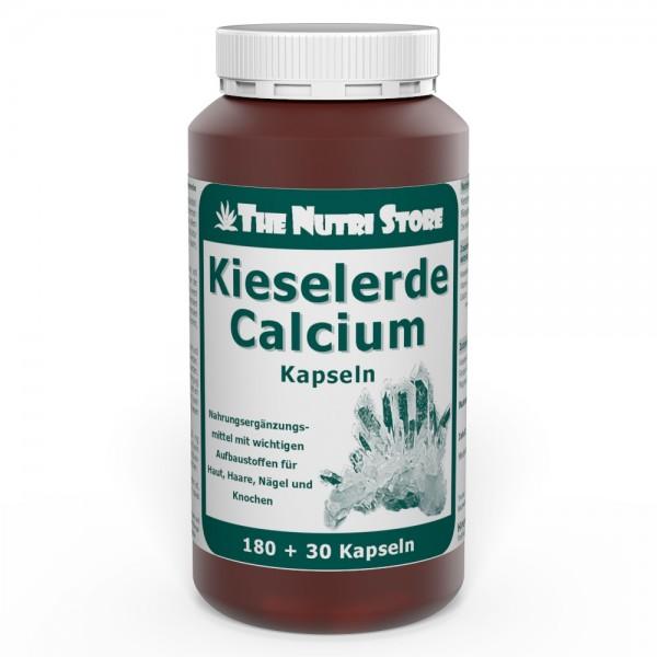 Kieselerde Calcium Kapseln 180 + 30 Stk.
