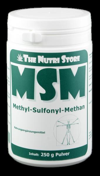MSM Methylsulfonylmethan Pulver 250g