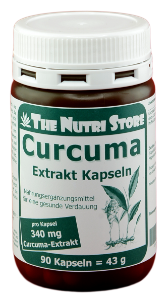 Curcuma Extrakt 340mg 90 Kapseln