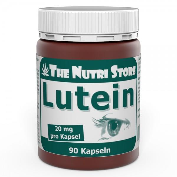 Lutein 20 mg Kapseln 90 Stk.