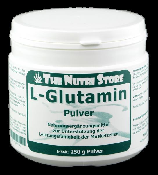L-Glutamin 100 % rein Pulver 250 g