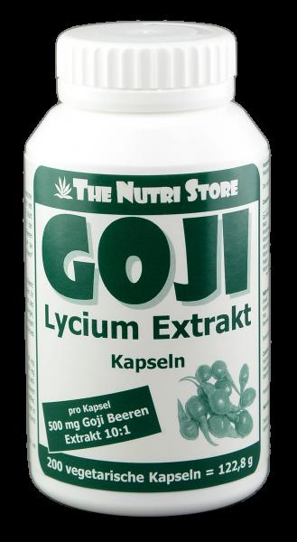 Goji Beeren Extrakt Kapseln 200 Stk.