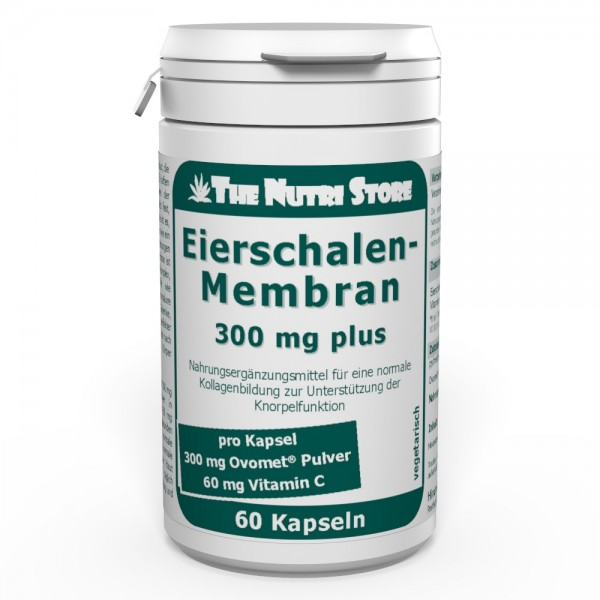 Eierschalenmembran 300 mg plus Kapseln 60 Stk.