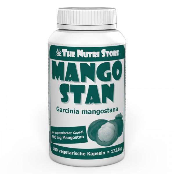 Mangostan Garcinia mangostana 500 mg Kapseln 200 Stk.