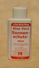 Aloe Vera Sonnenschutzmilch LSF 28 250 ml