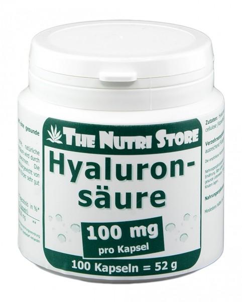 Hyaluronsäure 100 mg Kapseln 100 Stk.