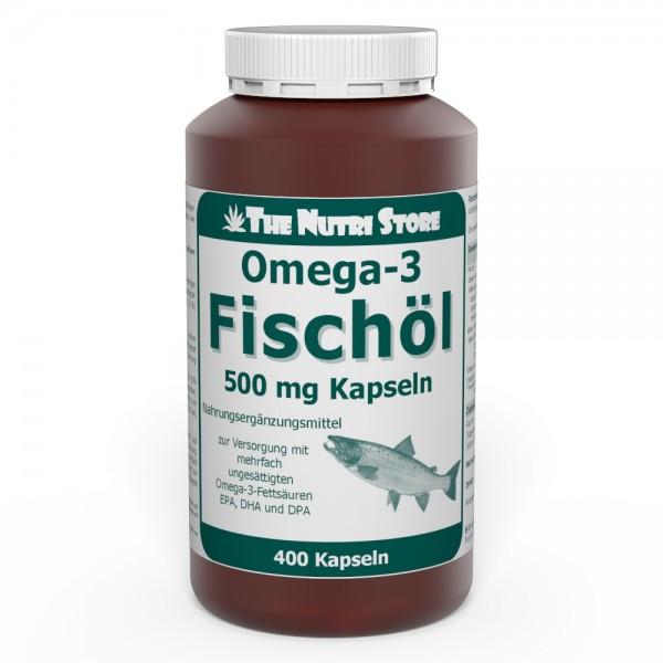 Fischöl Omega-3 Kapseln 400 Stk.