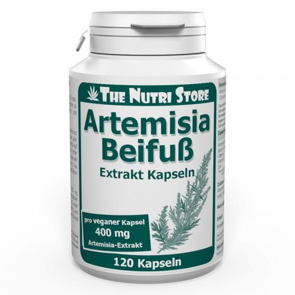 Artemisia Beifuß 400 mg Extrakt Kapseln 120 Stk.