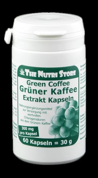 Grüner Kaffee Extrakt 300 mg Kapseln 60 Stk.