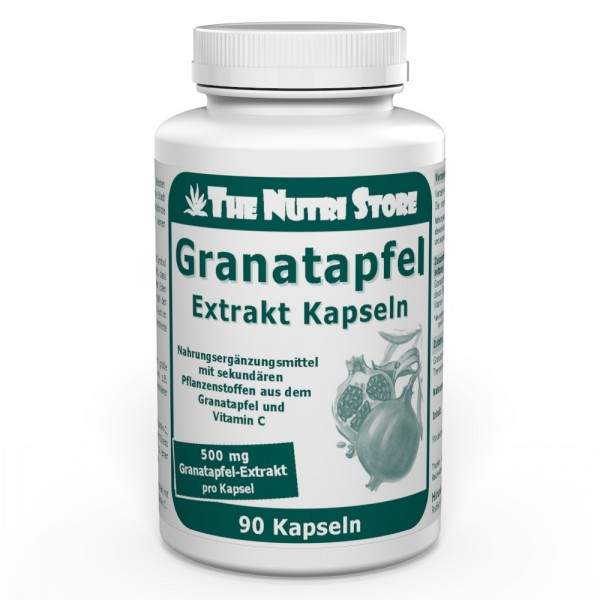 Granatapfel Extrakt 500 mg Kapseln 90 Stk.
