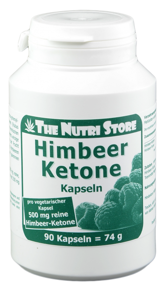 Himbeer Ketone 500 mg Kapseln 90 Stk.
