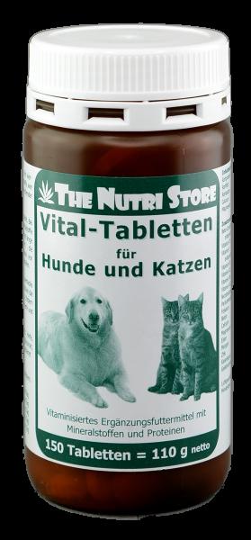 Vital-Tabletten für Hunde & Katzen 150 Stk.