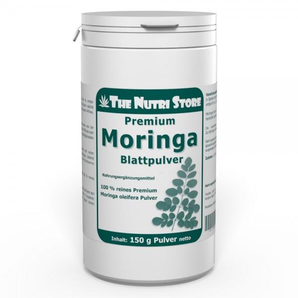 Moringa oleifera Blattpulver 150 g Pulver