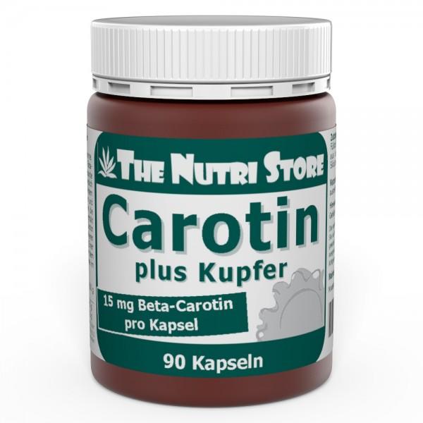 Carotin plus Kupfer 15 mg Kapseln 90 Stk.