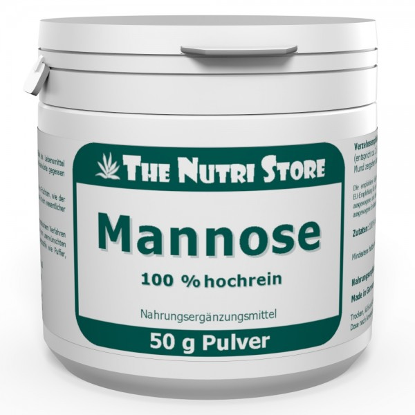 Mannose 100 % rein Pulver 50 g