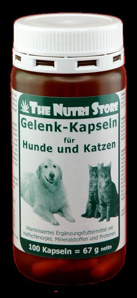 Gelenk-Kapseln für Hunde & Katzen 100 Stk.