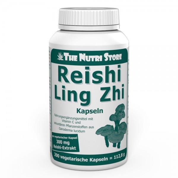 Reishi Ling Zhi Extrakt Kapseln 200 Stk.