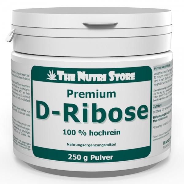 D-Ribose Pulver 100% hochrein 250 g