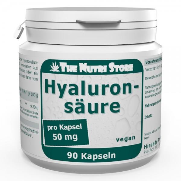 Hyaluronsäure 50 mg Kapseln 90 Stk. vegan