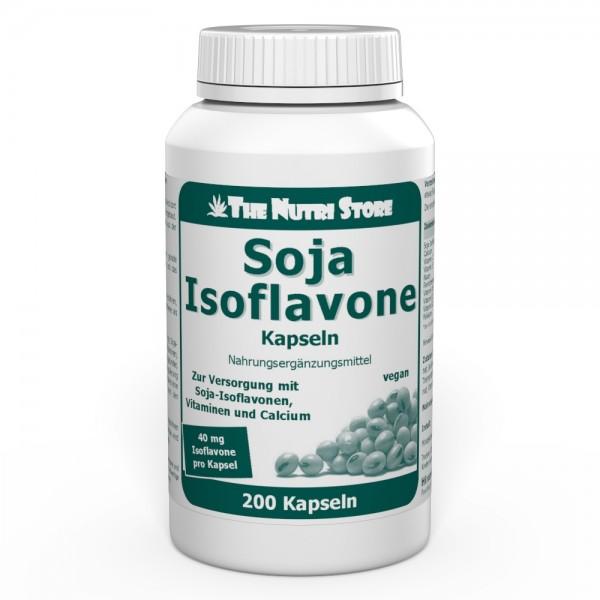 Soja Isoflavone 40 mg vegane Kapseln 200 Stk.