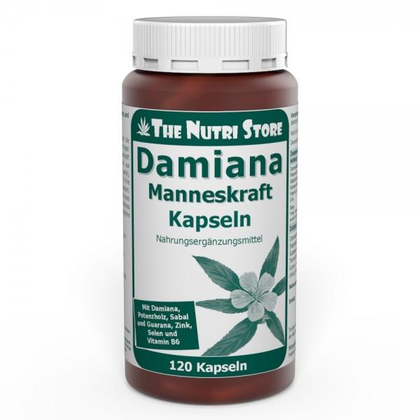 Damiana Manneskraft Kapseln 120 Stk. - Zur Anregung und Stärkung für IHN