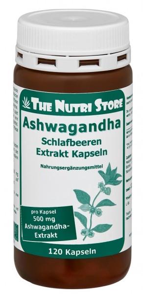 Ashwagandha Schlafbeeren Extrakt Kapseln 120 Stk.