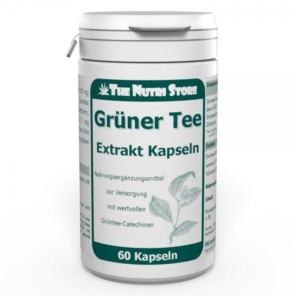 Grüner Tee Extrakt Kapseln 60 Stk.