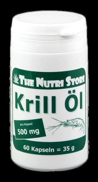 Krill-Öl 500 mg Kapseln 60 Stk.
