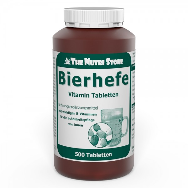 Bierhefe Vitamin Tabletten 500 Stk.