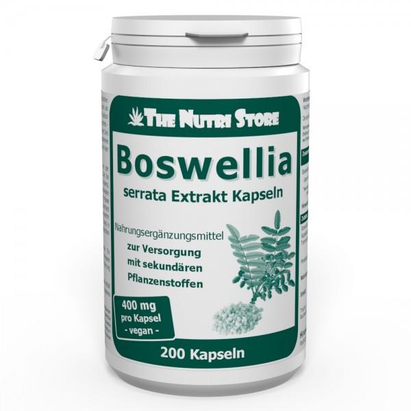 Boswellia serrata 400 mg Extrakt Kapseln 200 Stk.
