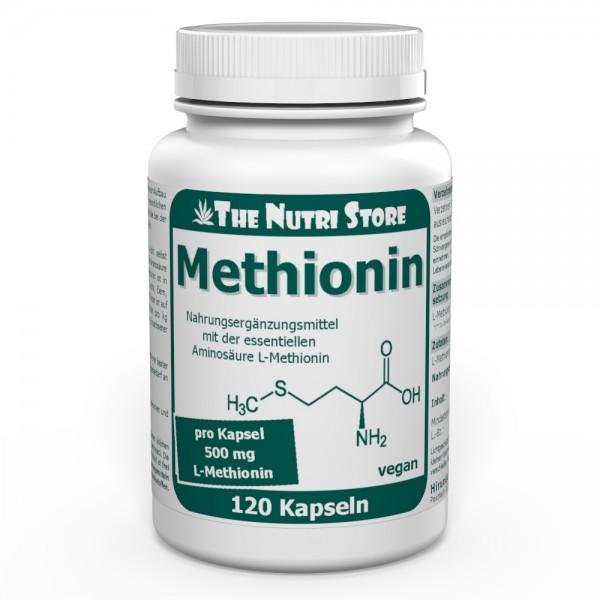 Methionin 500 mg vegane Kapseln 120 Stk.