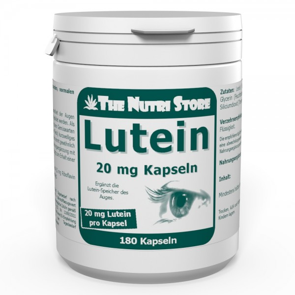 Lutein 20 mg Kapseln 180 Stk.