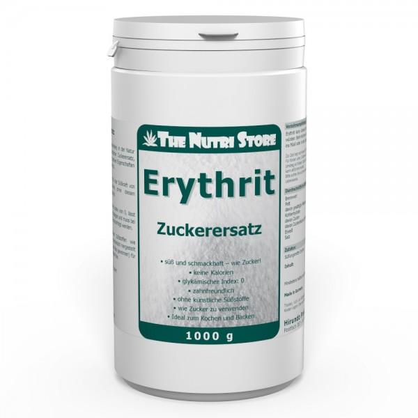 Erythrit Zuckerersatz Pulver 1000 g