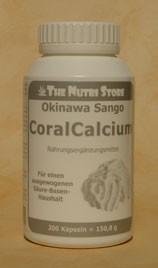 Sango Coral Calcium Kapseln 200 Stk.
