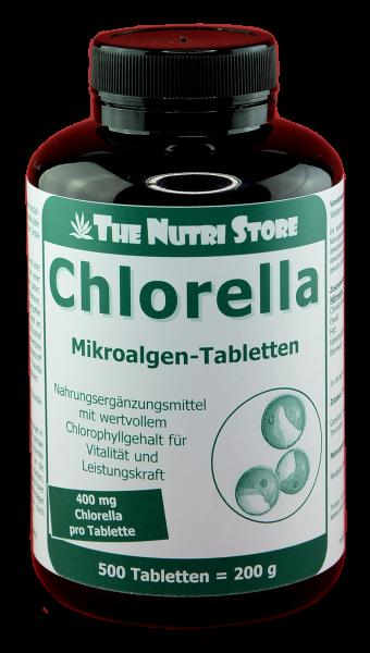 Chlorella 400 mg Tabletten 400 Stk.
