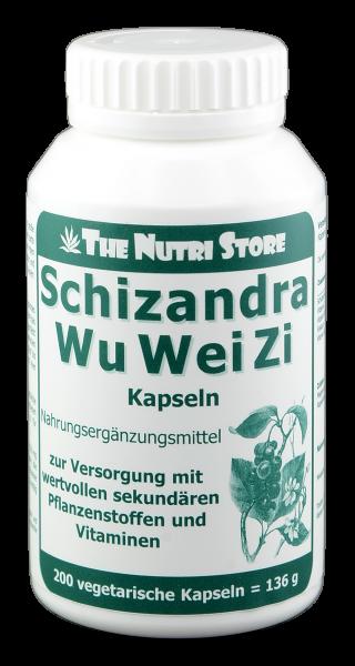 WuWeiZi Schizandra Kapseln 200 Stk.