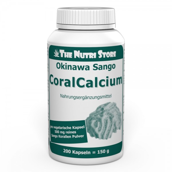 Okinawa Coral Calcium 500 mg Kapseln 200 Stk.