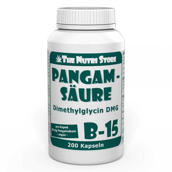 Pangamsäure B15 50 mg vegane Kapseln 200 Stk.