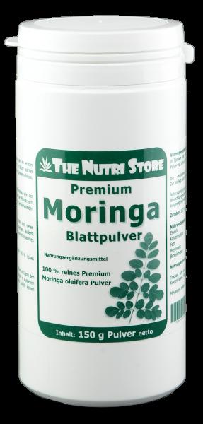 Moringa Blatt Pulver pur 150 g