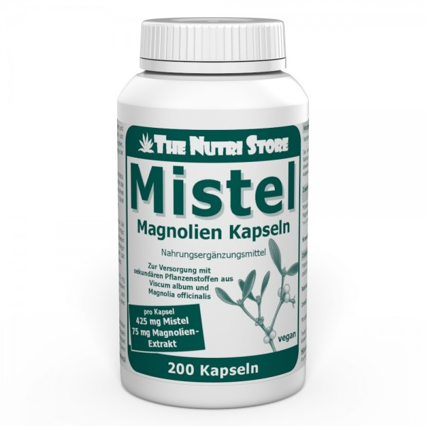 Mistel 425 mg Magnolienextrakt vegane Kapseln 200 Stk.