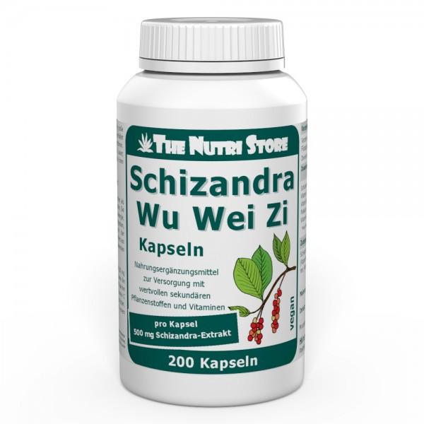 WuWeiZi Schizandra vegane Kapseln 200 Stk.